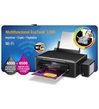 Printer Epson L365 (Print Scan Copy  + Wireless)